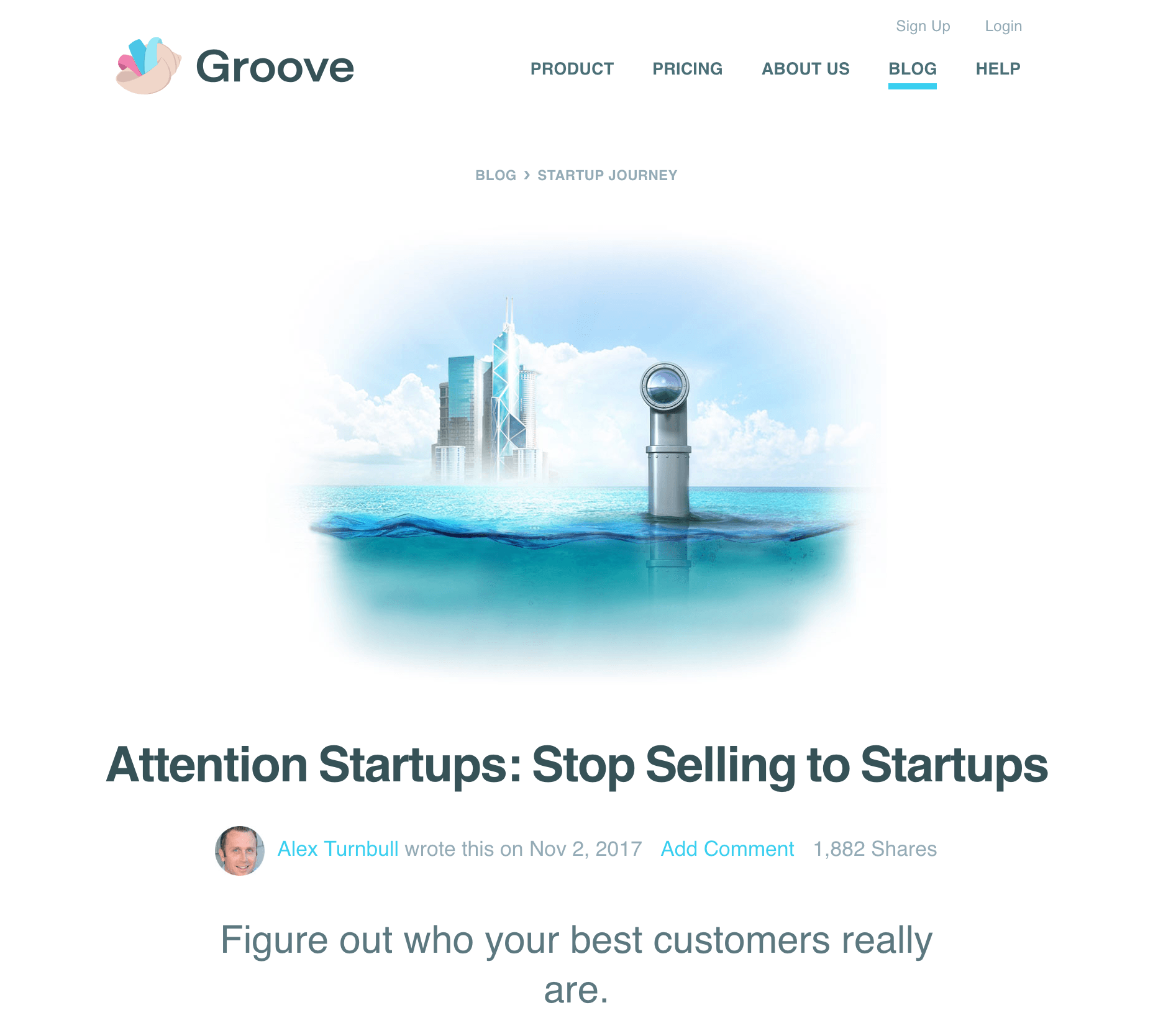 GrooveHQ Blog Post