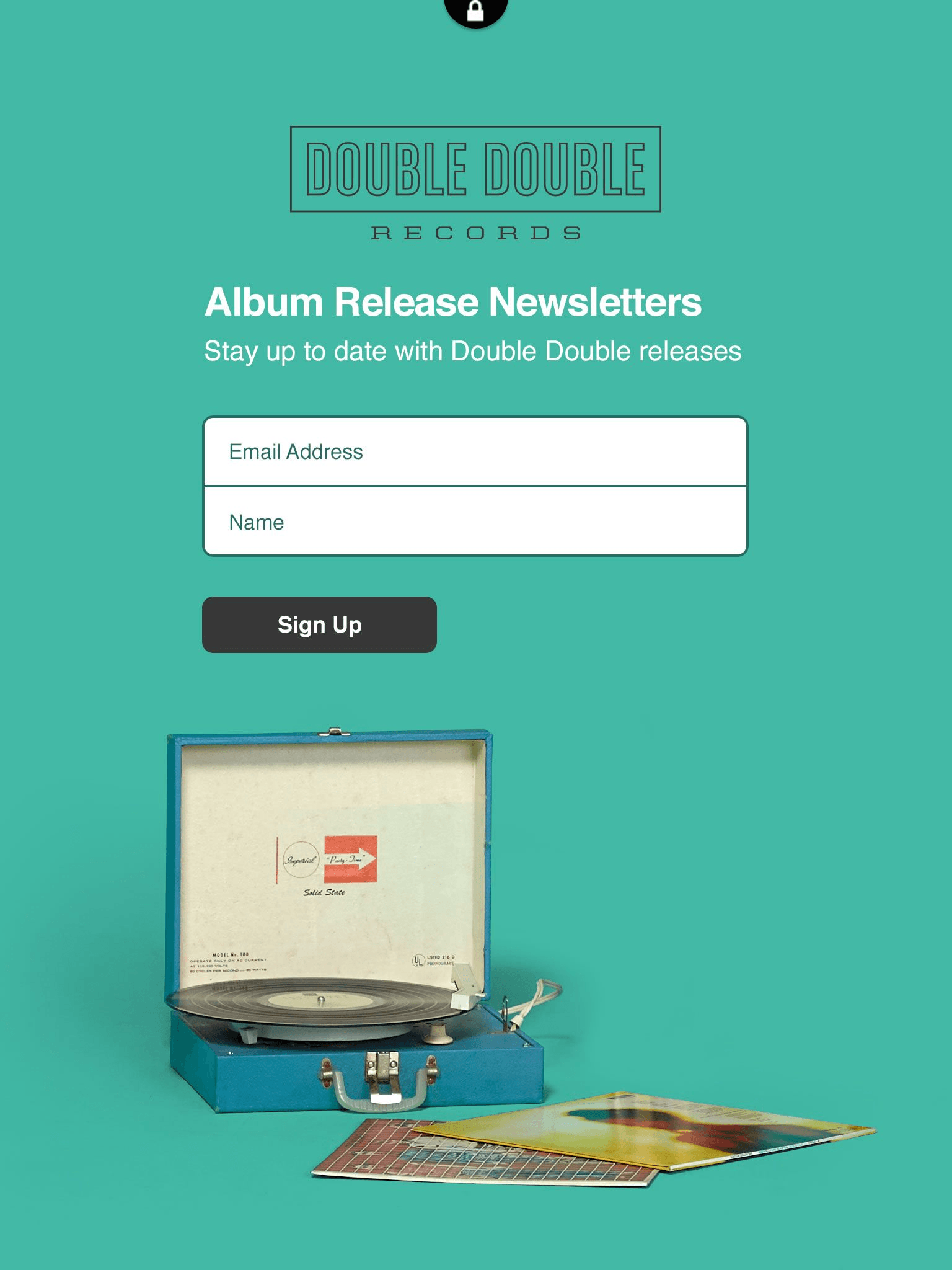 In-Store Mailchimp Signup Form
