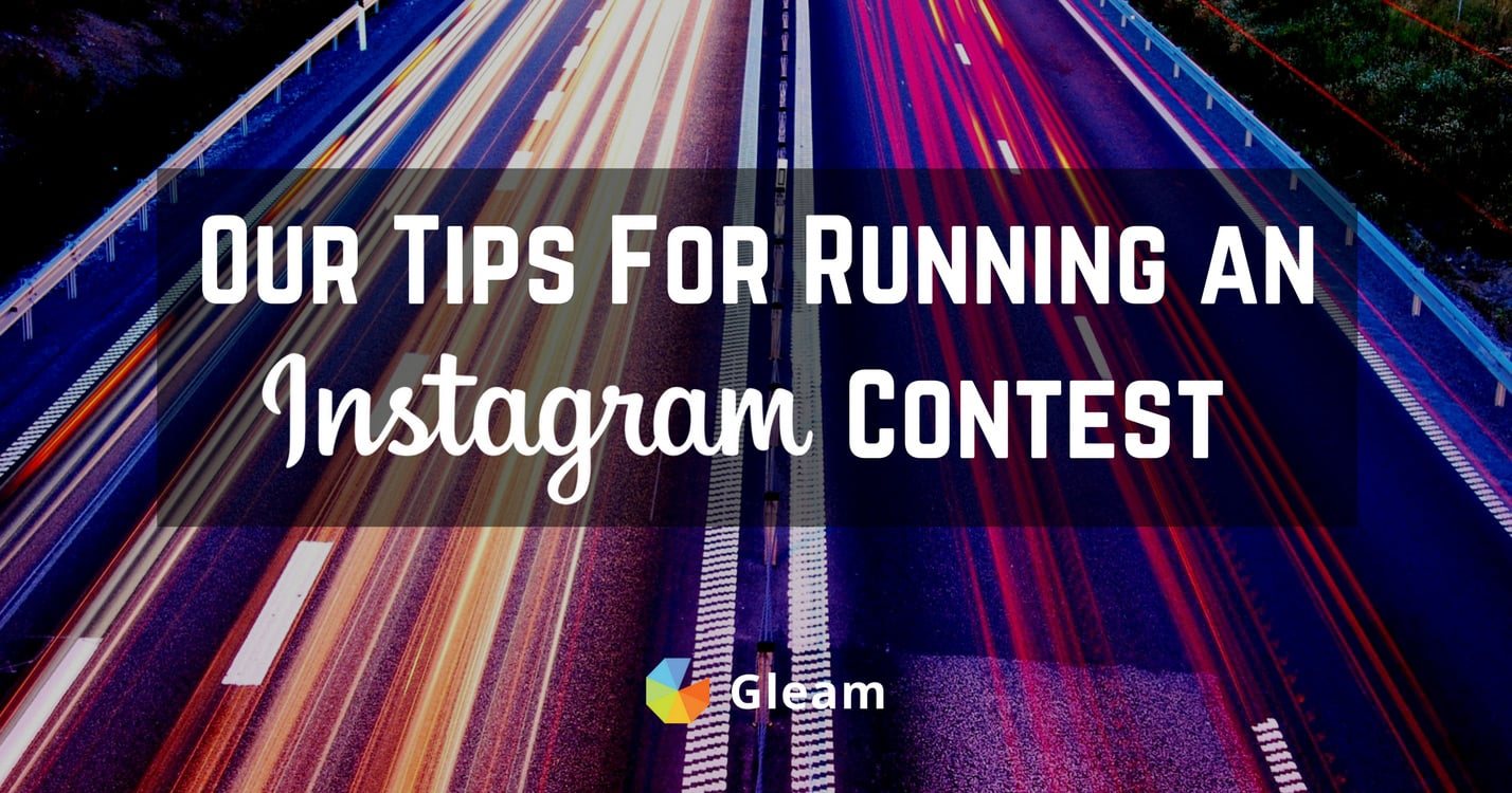 Tips for Running an Instagram Contest