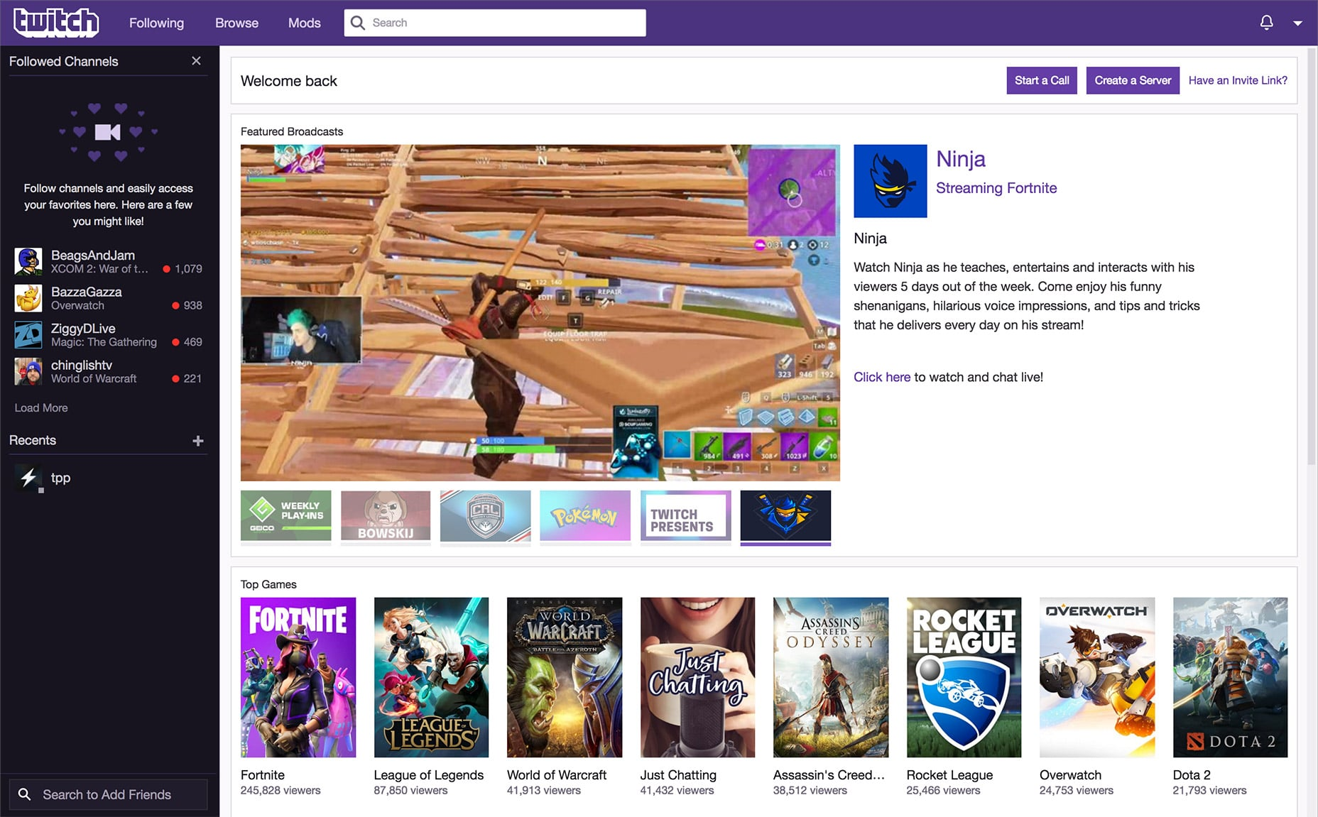 twitch-homepage