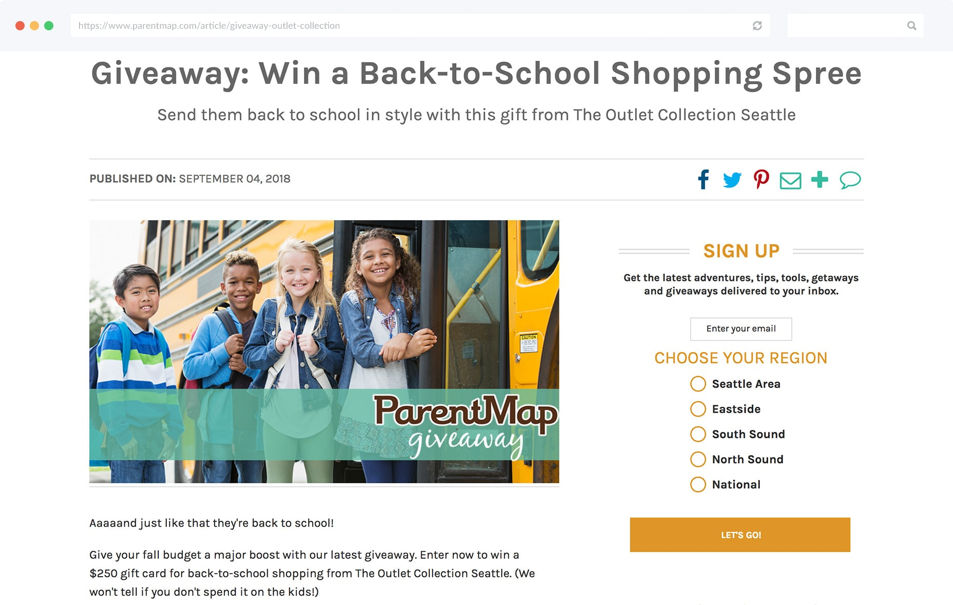 513da1a690f ... shopping spree which contest winners can use to take care of all their  back-to-school needs. You could offer up vouchers to your own store or  other ...