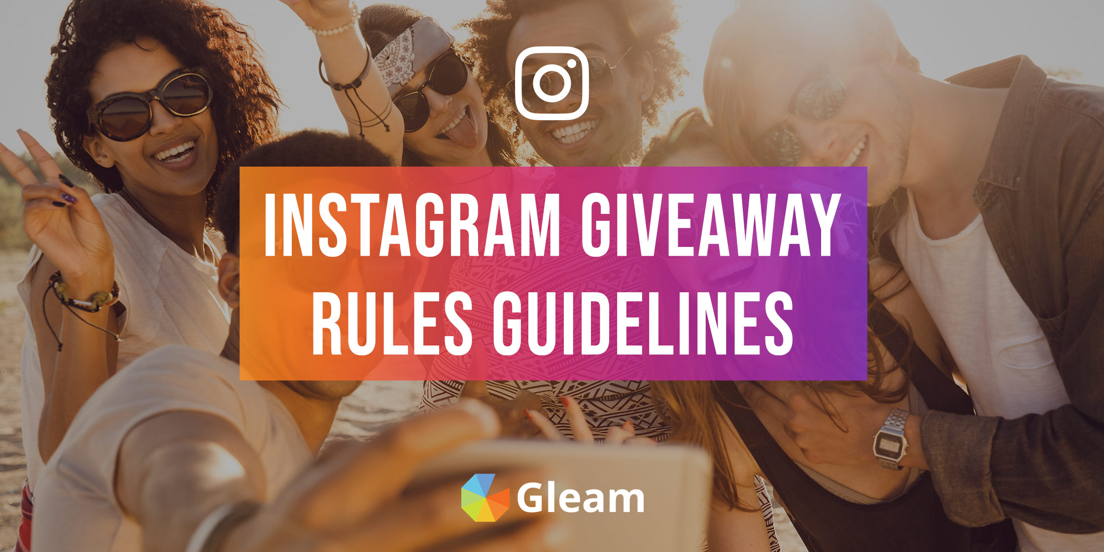 Guidelines For Your Instagram Giveaway Rules, Terms & Conditions
