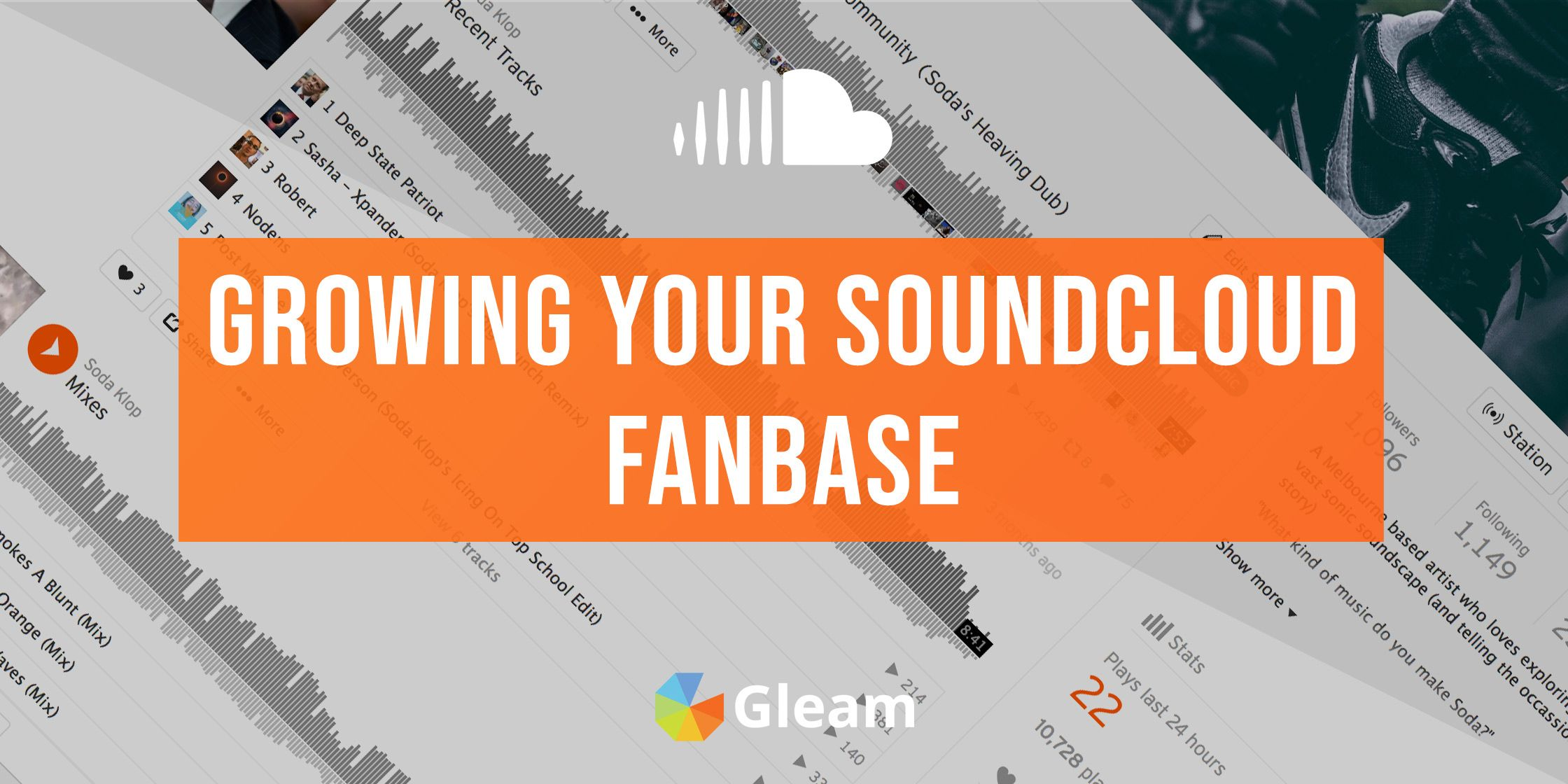 Growing Your Fanbase on SoundCloud: The Ultimate Guide For Artists