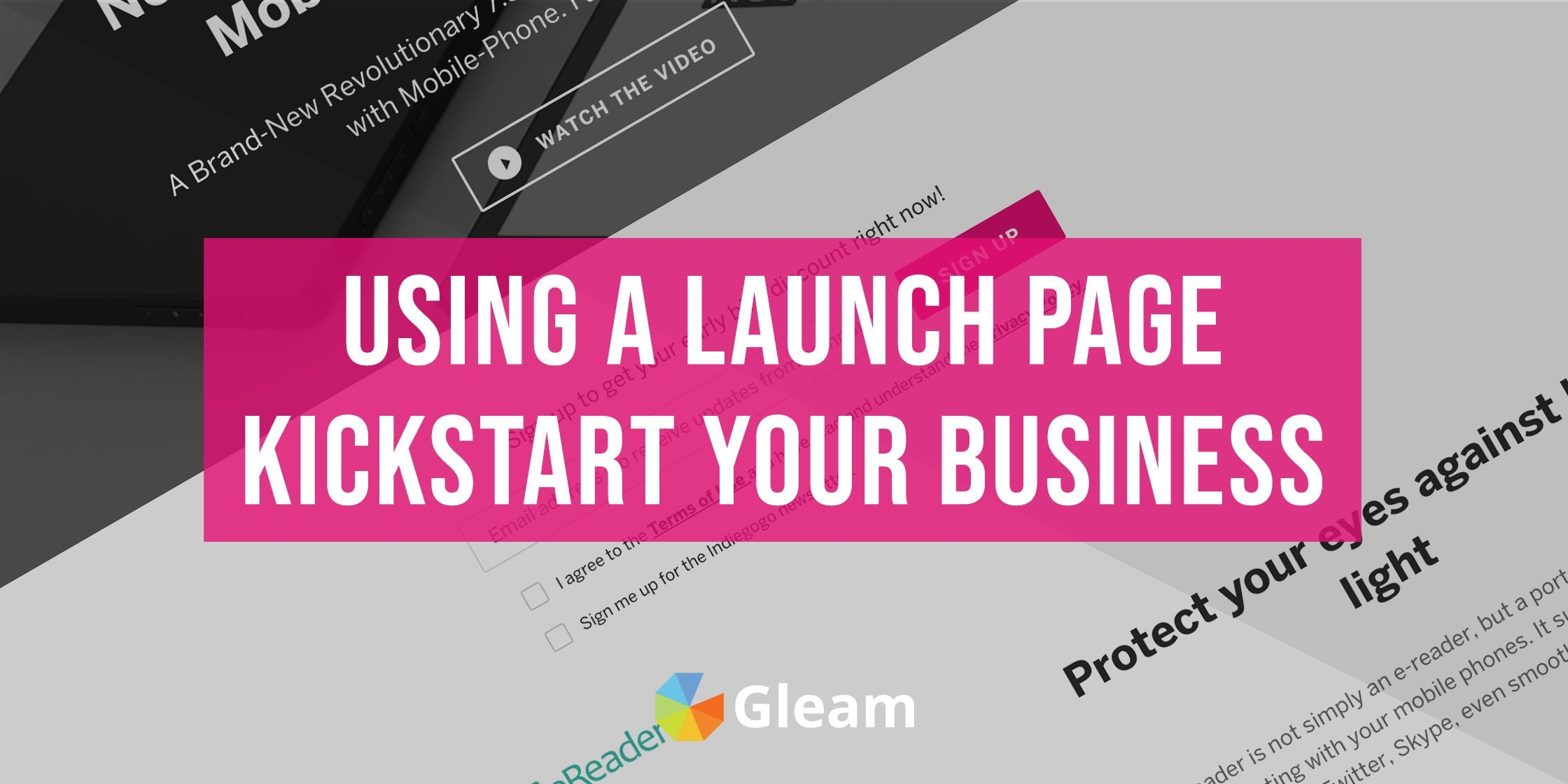 Capture Emails With Pre-Launch Landing Pages: Examples & Recommended Tools