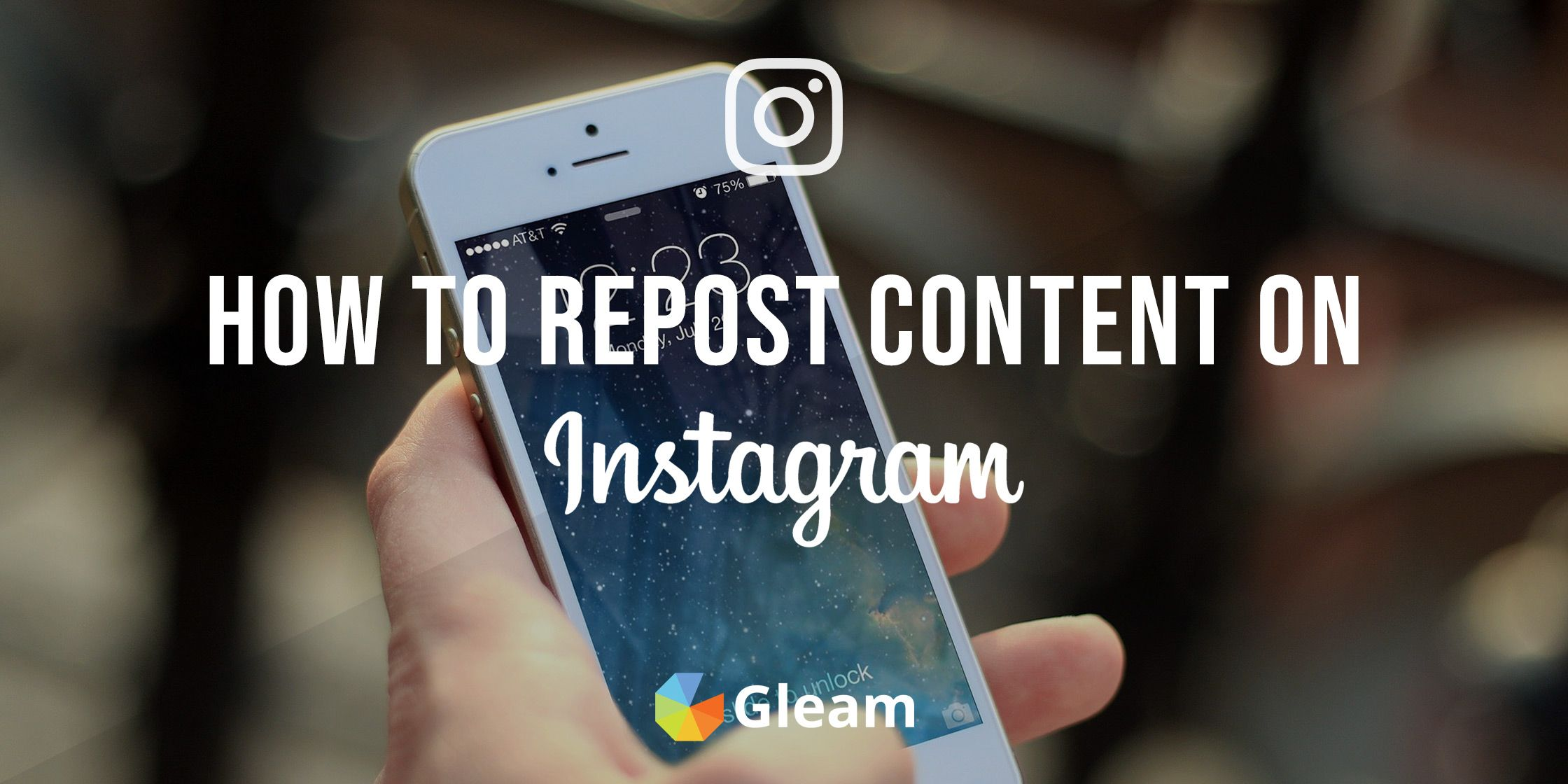How to Repost Pictures on Instagram