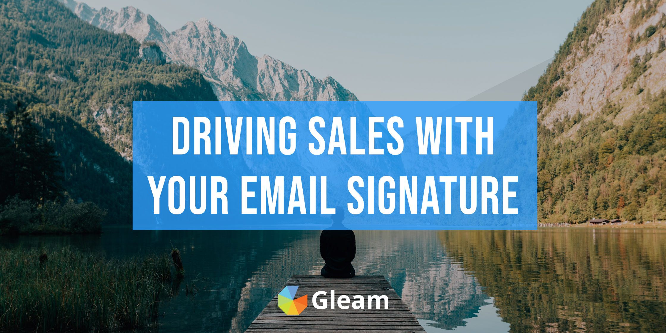 Using Your Email Signature to Drive Signups & Sales
