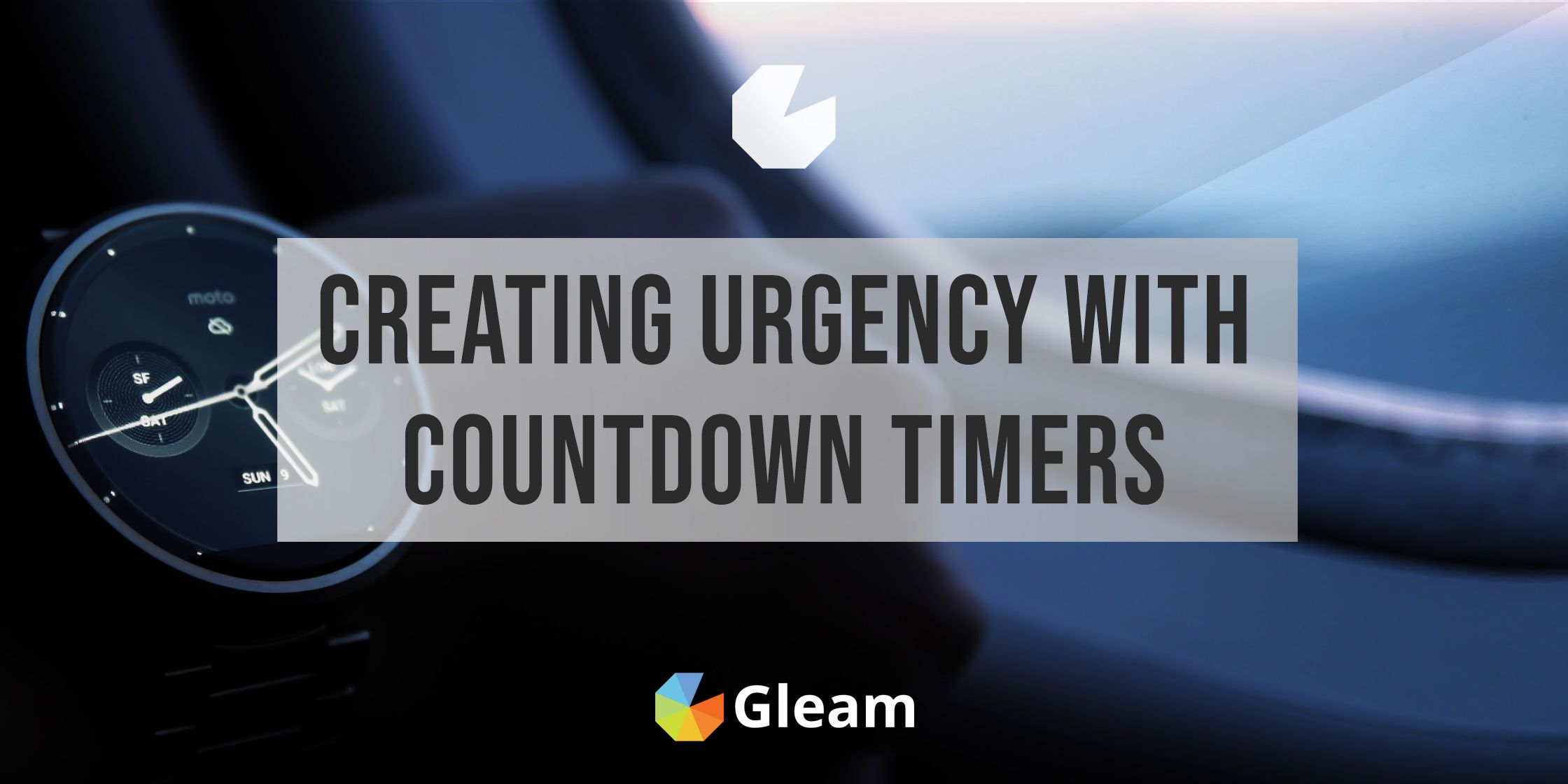Using Countdown Timer Bars & Popups to Create Urgency