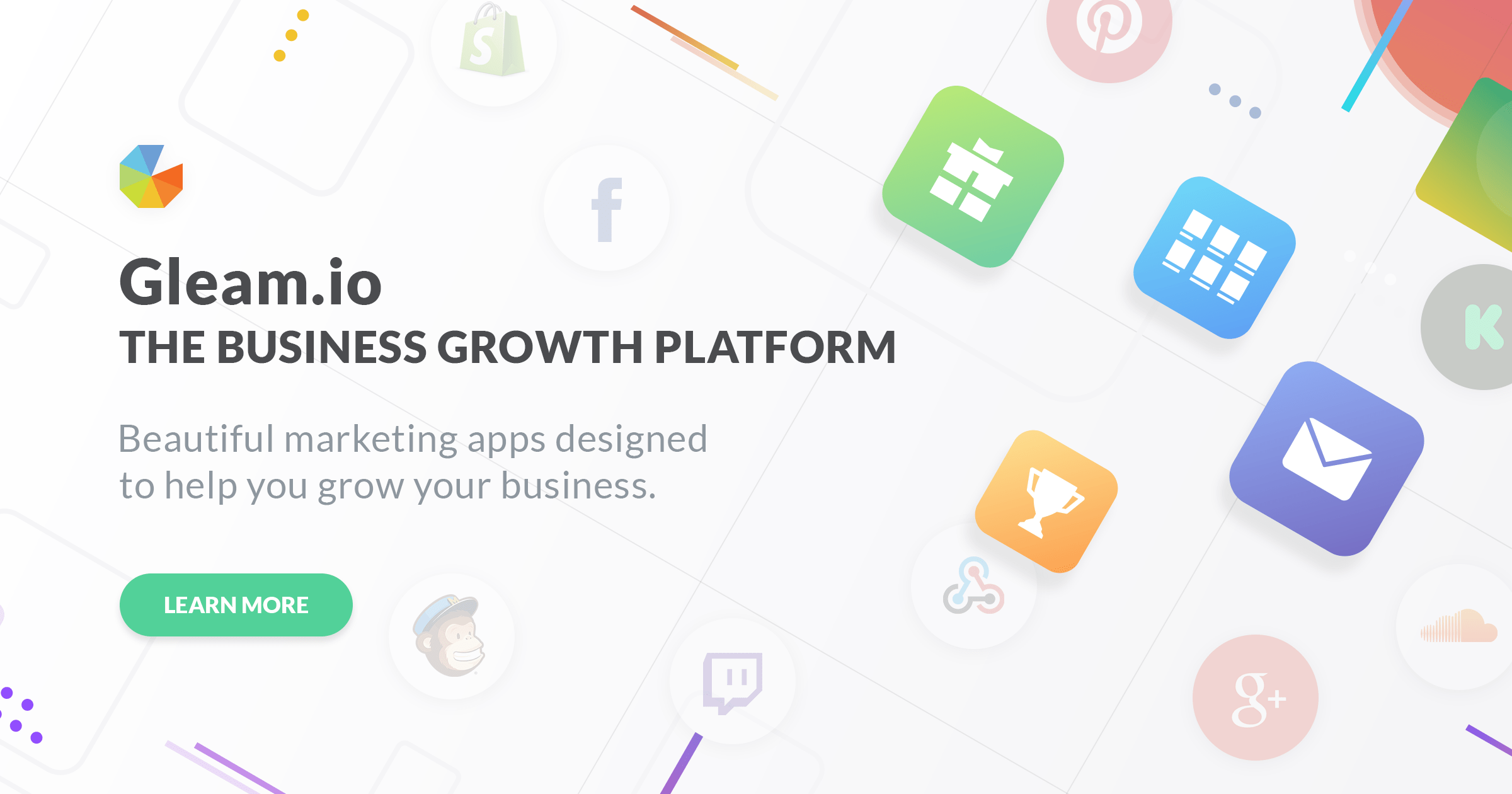 Grow Your Business With Contests & Social Marketing Apps